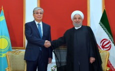 Kassym-Jomart Tokayev met with President of the Islamic Republic of Iran Hassan Rouhani